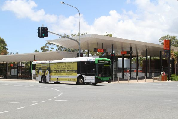 Surfside bus #380 736VYA on route 709 at Gold Coast University Hospital