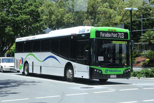 Surfside bus #396 932XRP on route 713 in Southport