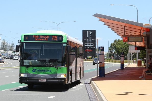 Surfside bus #789 536KXQ on route 705 at Broadbeach South