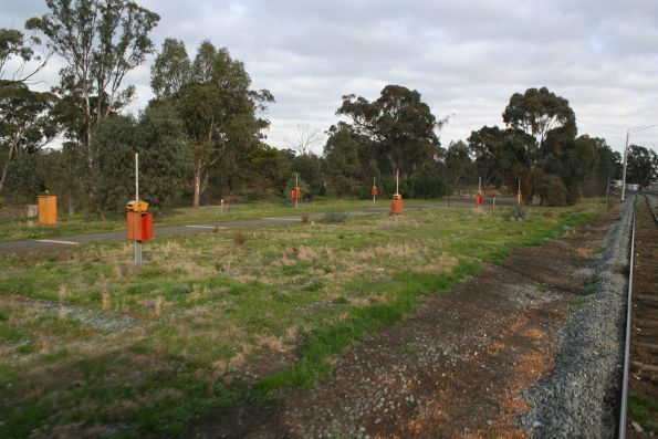 Former way and works campsite at Mooroopna