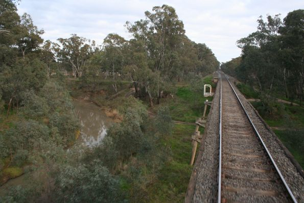 Crossing the Goulburn River at Mooroopna