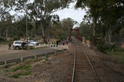 NSW side of the Tocumwal road/rail bridge