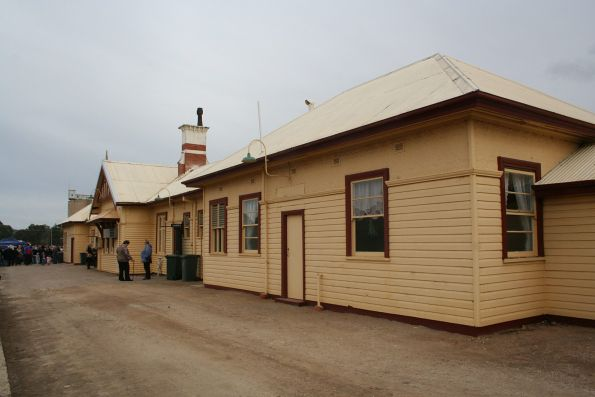 NSW standard gauge side of the station building at Tocumwal