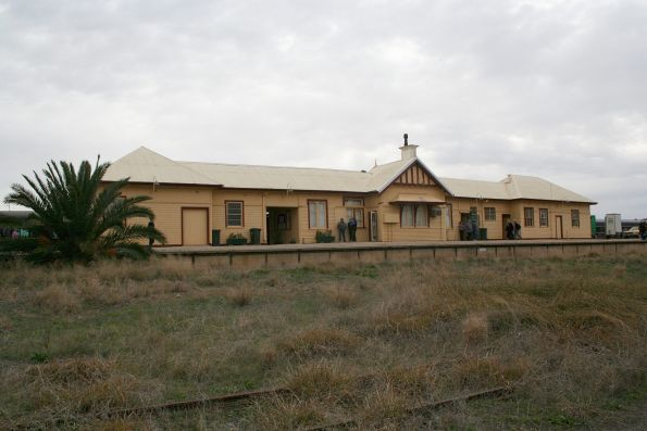 Disused NSW side of Tocumwal station