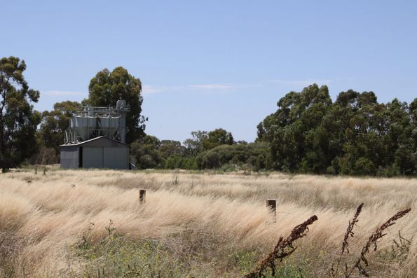 Some kind of silos along the disused SG tracks at Tocumwal