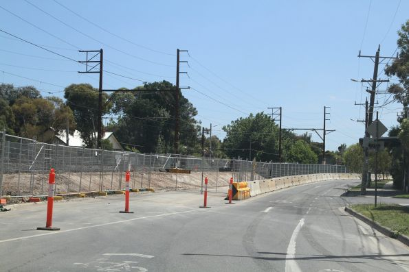 Grange Road level crossing removal
