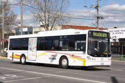 Grenda bus I839, rego 7727AO with a route 670 service at Lilydale