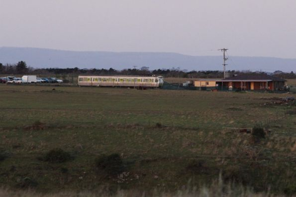 Grounded Hitachi body just north of Calder Park Raceway