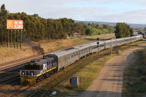 Great Southern Rail in Adelaide