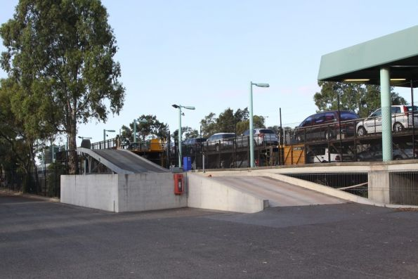 Motorail dock and loading ramps at Keswick