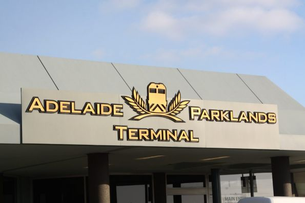 Front entrance of the Adelaide Parklands Terminal, formerly known as Keswick Terminal