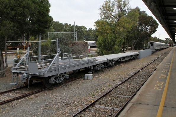 Motorail ramps at Adelaide Parklands Terminal