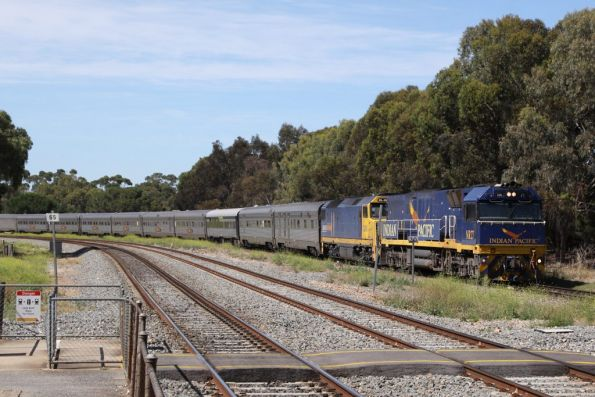 Great Southern Rail - Indian Pacific - Wongm's Rail Gallery
