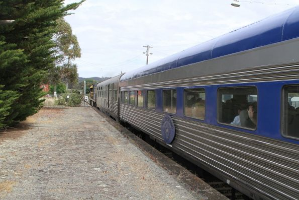 The Overland westbound out of Ararat