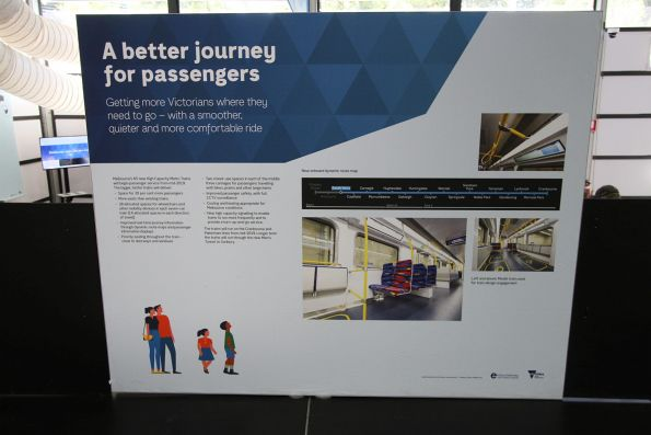 'A better journey for passengers' display