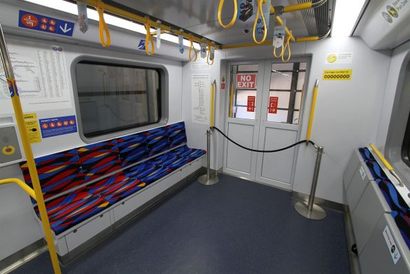 Doors at the end of the carriage