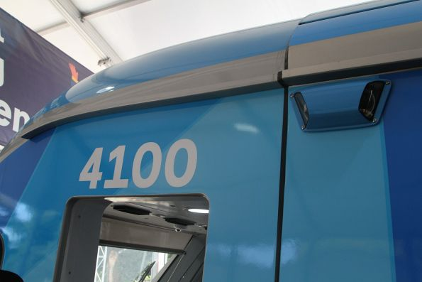 Lead carriage is numbered 4100