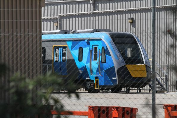 High Capacity Metro Trains at Newport Workshops