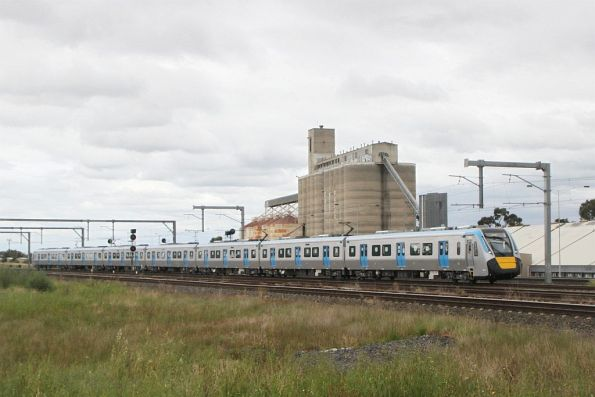 High Capacity Metro Train testing on the Sunbury line