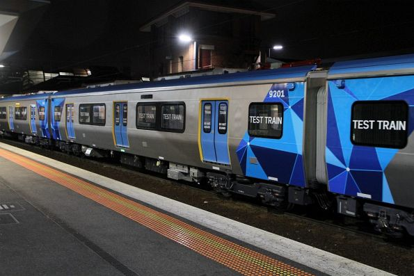 'DMp1' carriage 9201 at Footscray