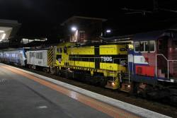 Just P16, T386 and the powervan on the HCMT transfer at Footscray
