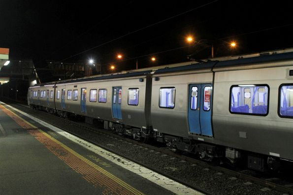 High Capacity Metro Train testing on the Werribee line