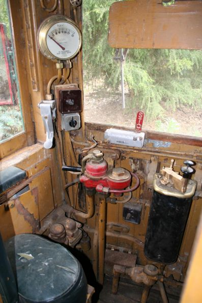 Interior of a Tait driving cab