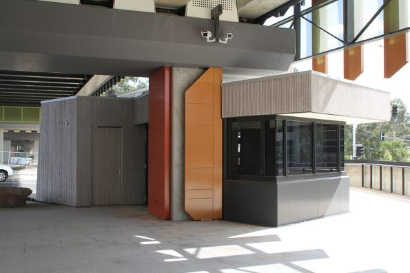 Future kiosk at concourse level at Rosanna station