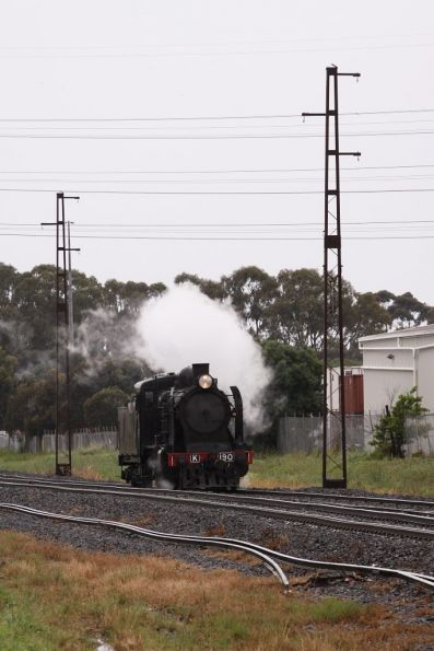 K190 transfer to Castlemaine, 2011