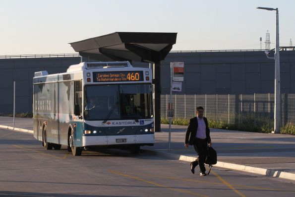 Kastoria bus #51 BS00AZ on a route 460 service at Caroline Springs station