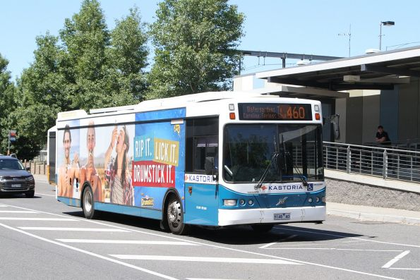 Kastoria bus #41 9148AO on route 460 at Watergardens station