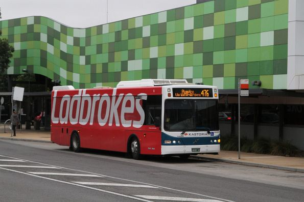 Kastoria bus BS00AZ on route 476 at Watergardens station