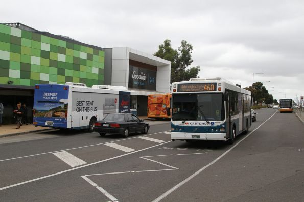 Kastoria bus #50 BS00AY on route 460 at Watergardens station