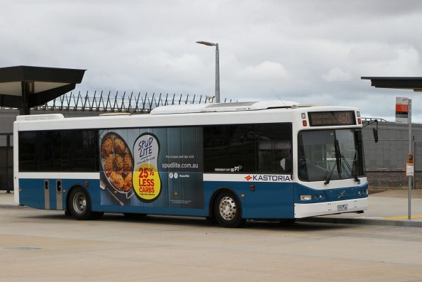 Kastoria bus 7737AO on a route 460 service at Caroline Springs station