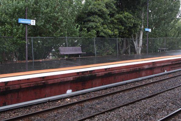 New signal trunking running along the down line at Newmarket