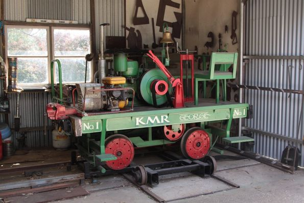 KMR No 1: a diesel powered trolley named 'George'