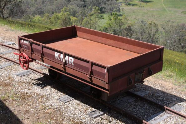 Open wagon at Strath View Siding