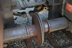 Buffers and screw coupler between the carriages