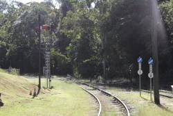 Signals at the down end of Kuranda station