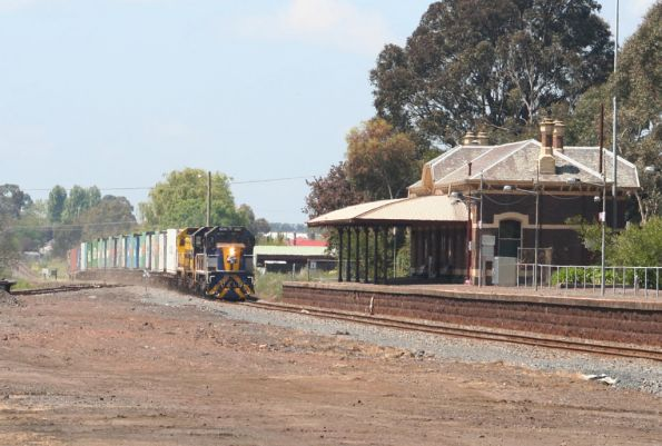 Passing through Terang