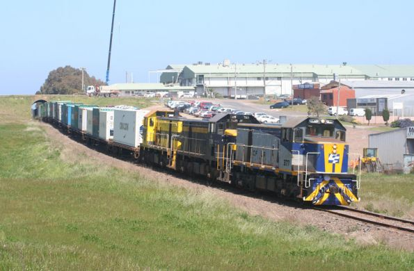 El Zorro's final Warrnambool freight, October 2008