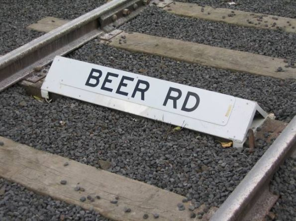 Beer siding at North Geelong