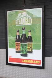 'Steamrail' beer at Liquorland