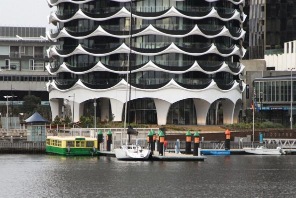 'Melbourne Tramboat Cruises' moored at Docklands