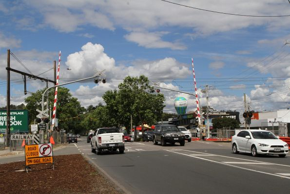 Lilydale level crossing removal project