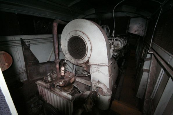 Engine room of S303