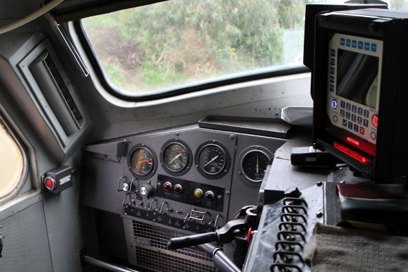 Cab of A66