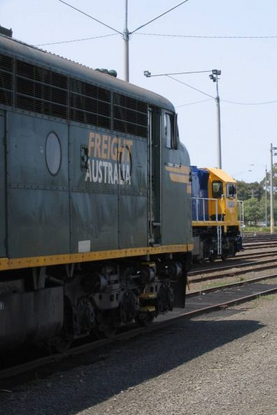 S301 with XR559 at North Geelong Yard