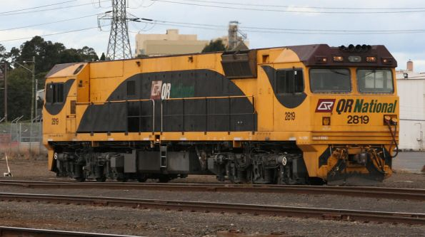 QR National 2819 stabled at North Dynon