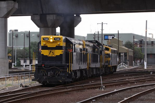 T341, T320, T378 and B74 shunt from South Dynon to Appleton Dock